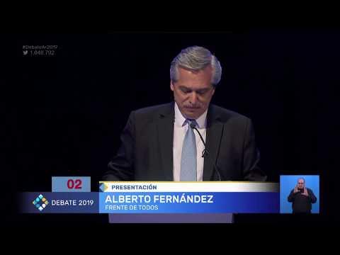 Se inició el segundo y último debate presidencial en la Facultad de Derecho de la UBA