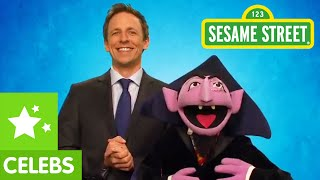 Sesame Street: Seth Meyers Greets the Count