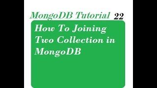 How To Joining Two Collection in MongoDB