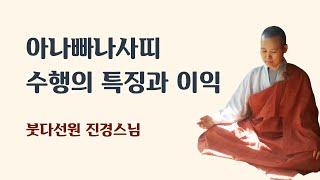 아나빠나 사띠(들숨날숨에 마음챙김) 수행의 특징과 이익 (2017년 1월 25일)
