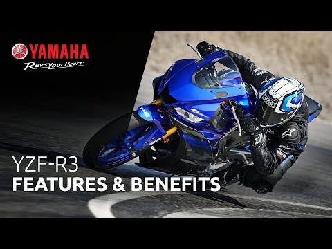 2021 Yamaha YZF-R3 ABS in Ishpeming, Michigan - Video 3