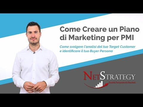 Analisi del Target e del Buyer Persona - Creare Piano di Marketing (parte 3)