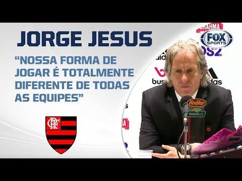 PÓS-JOGO: FLAMENGO 3 X 1 ATLÉTICO MG - Jorge Jesus fala ao vivo