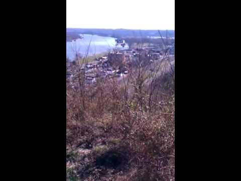 Video Overlook Ohio river near Ashland, KY