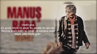 Manuş Baba - Eteği Belinde Sözleri (Official Lyrics Video)