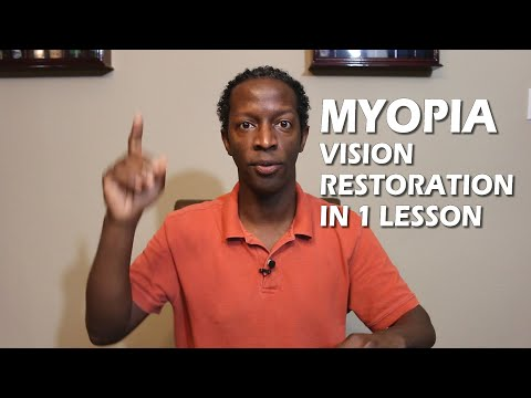 Restoring and Improve Your Vision Naturally With One Lesson ...