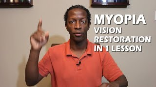 Restoring and Improve Your Vision Naturally With One Lesson