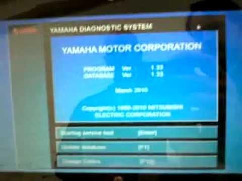 yamaha Diagnostic ( YDS ) or meter error code ????