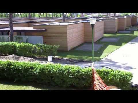 Timelapse Garden Villa
