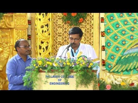 Pallavan Engineering College video cover2