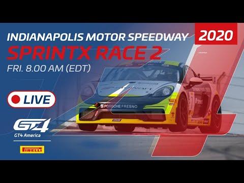 2020年 ブランパンGTワールドチャレンジ・アメリカ(インディアナポリス)GT4 レース2ライブ配信動画