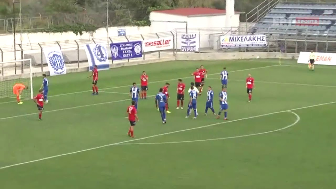Super League 2 | Χανιά-Τρίκαλα: 1-0 με πέναλτι του Διαμαντόπουλου | 07/02/21 | ΕΡΤ
