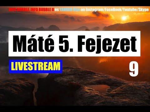 Máté 5. Fejezet 9.Rész - YAHUAH Útja Live 20180825 – 19.00 letöltés
