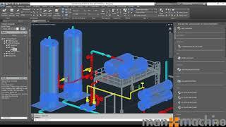 Export Plant 3D Model into Revit