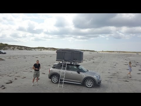 Mini Countryman with Autohome tent | Tiny Home on wheels