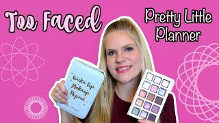 TOO FACED PRETTY LITTLE PLANNER! | Review + Swatches | Holiday 2017 Makeup
