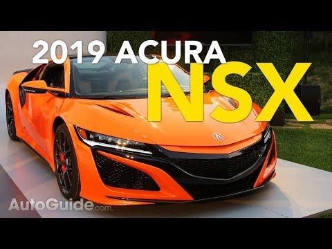 2019 Acura NSX Revealed - 2018 Monterey Car Week| Pebble Beach