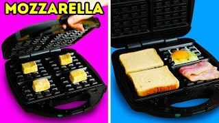 10 SURPRISING FOODS YOU CAN MAKE IN YOUR WAFFLE MAKER