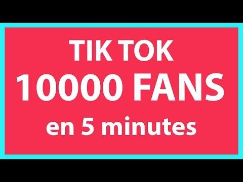 comment avoir plus de fans sur Tik Tok