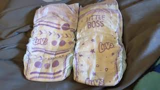 Luvs Pro Level Leak Protection Diapers (Size 6 | NEW DESIGNS for 2020)