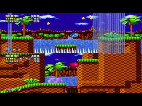Sonic Mania - Aperçu du mode compétitif de Sonic Mania