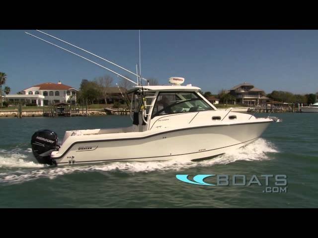 2012 Boston Whaler 315 Conquest Boat Review / Performance Test