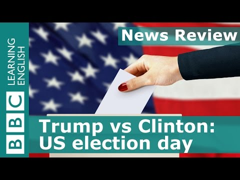 BBC News Review: Trump vs Clinton - US election day