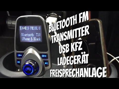KFZ Bluetooth FM Transmitter mit AUX & SD Card - Sinnvolles Upgrade für Autos ohne Bluetooth
