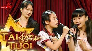 Màn trình diễn của 3 mẹ con khiến Lê Hoàng rơi nước mắt.