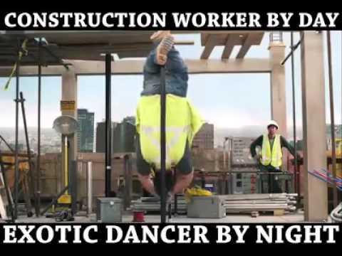 Extraordinary exotic pole dancer