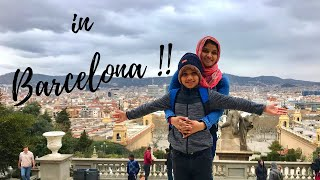 Family Trip To Barcelona, Spain