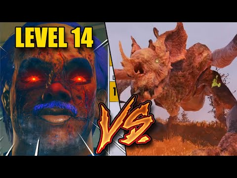 Fallout 76 | Making LOW LEVEL PLAYERS fight the SCORCHBEAST QUEEN