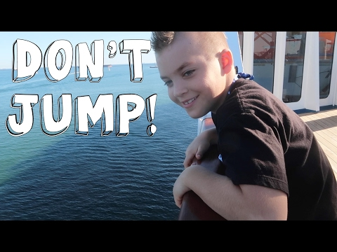 DON'T JUMP OFF THE BOAT!
