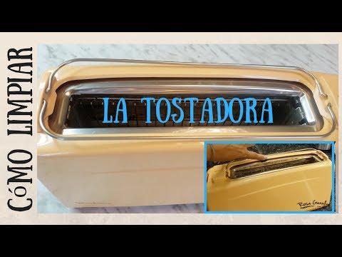 Cómo limpiar la tostadora o tostador de pan