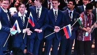 В Россию с победой вернулись юные учёные-физики