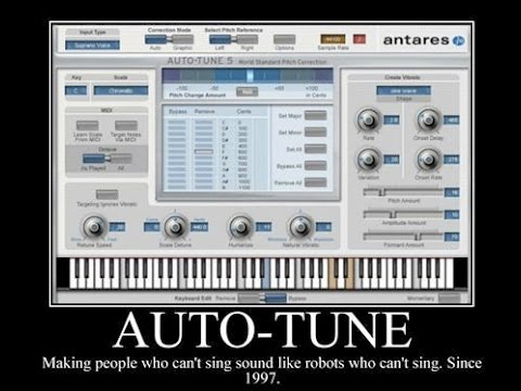 "Using ""AutoTune"" style plugins"