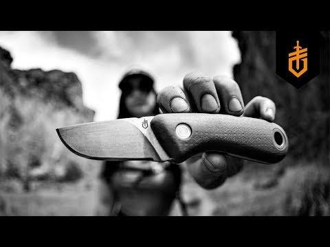 Нож с фиксирано острие Vertebrae, Green