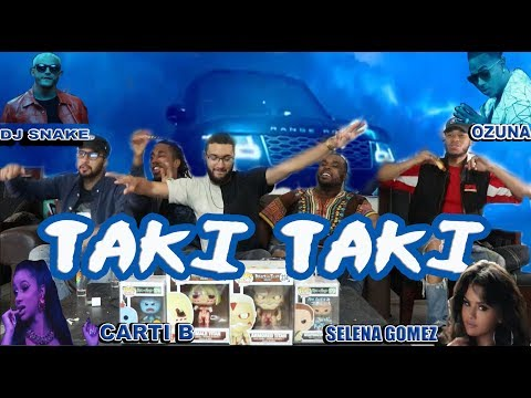 DJ Snake ft  Selena Gomez, Ozuna, Cardi B-Taki Taki Reaction/Review