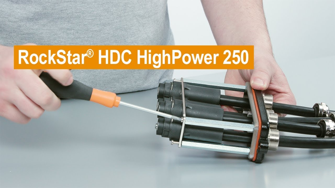 Handling Video RockStar® HDC HighPower 250