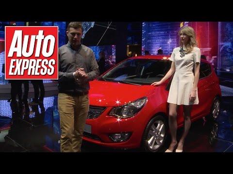 Vauxhall Viva (Opel Karl) revealed at Geneva 2015