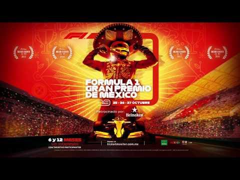 Póster del Formula 1 Gran Premio de México 2019