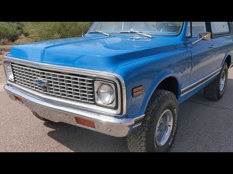 1972 Chevrolet Blazer (CC-1391566) for sale in North Phoenix, Arizona