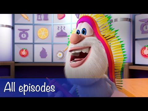 Booba - All Episodes Compilation + 7 Food Puzzles - Cartoon for kids