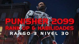Punisher 2099, Rank Up & Habilidades | Marvel Batalla de Superheroes