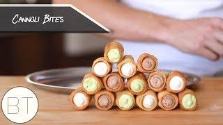 Cannoli Bites (Matcha