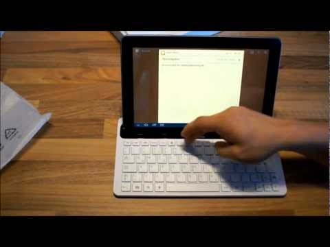Tastatur-Dock für das Galaxy Tab 10.1 Review deutsch