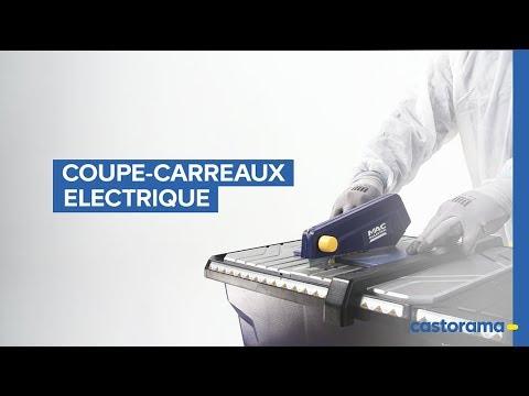 Comment utiliser un coupe-carreaux électrique ? (Castorama)