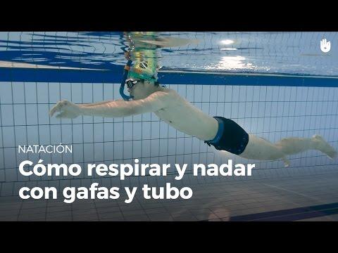 Cómo respirar y nadar con gafas y tubo de buceo | Miedo al agua