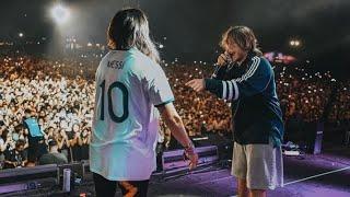 Paulo Londra Forever Alone, Steve Aoki (remix), Adan y Eva, Lollapalooza 2019 Argentina