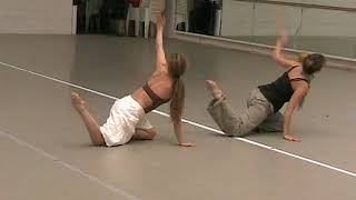 Cathy Marston's Traces Solo (filmed For Priz De Lausanne CONTEMPORARY VARIATIONS 2012)